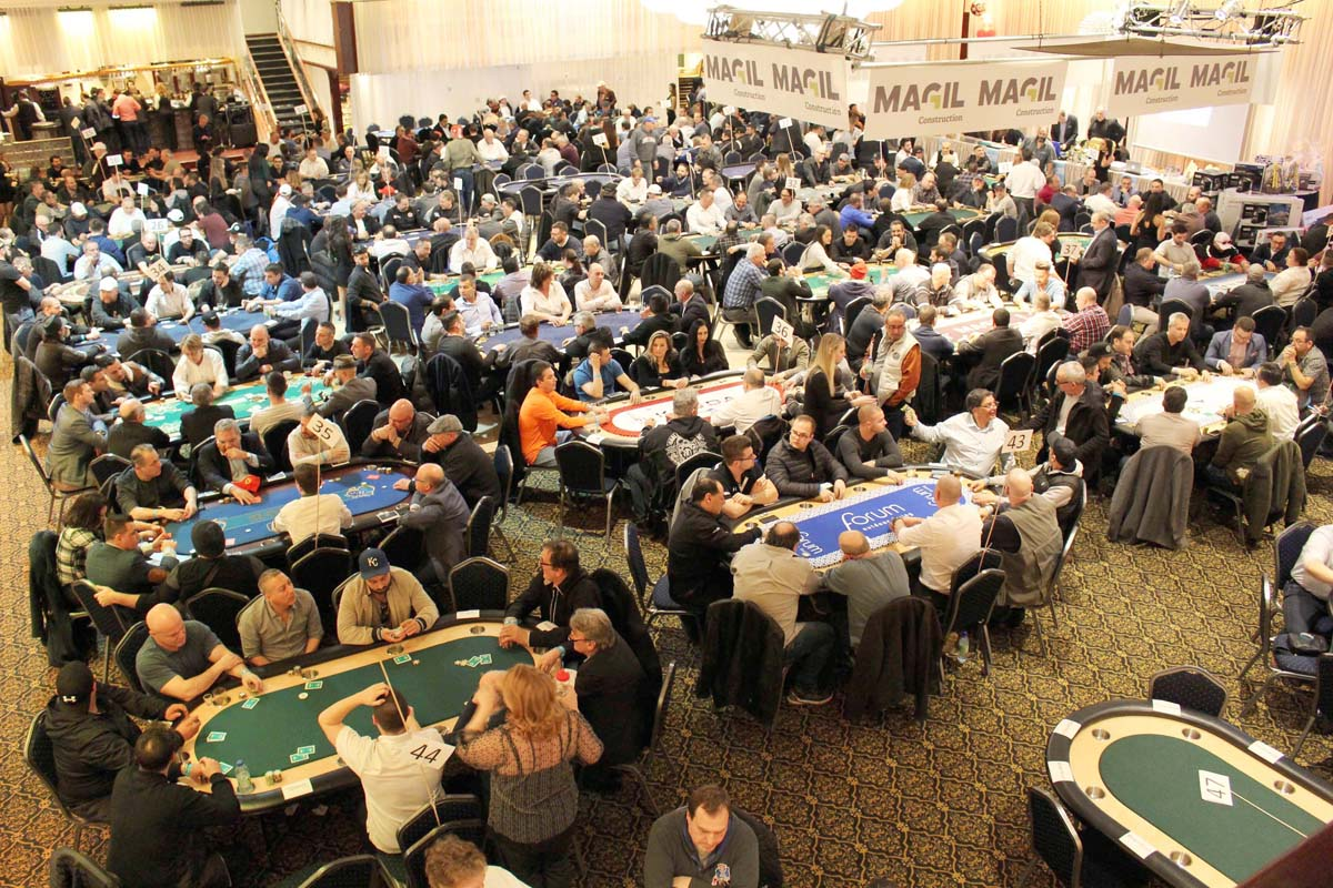 Annual TEXAS HOLD'EM Poker Tournament