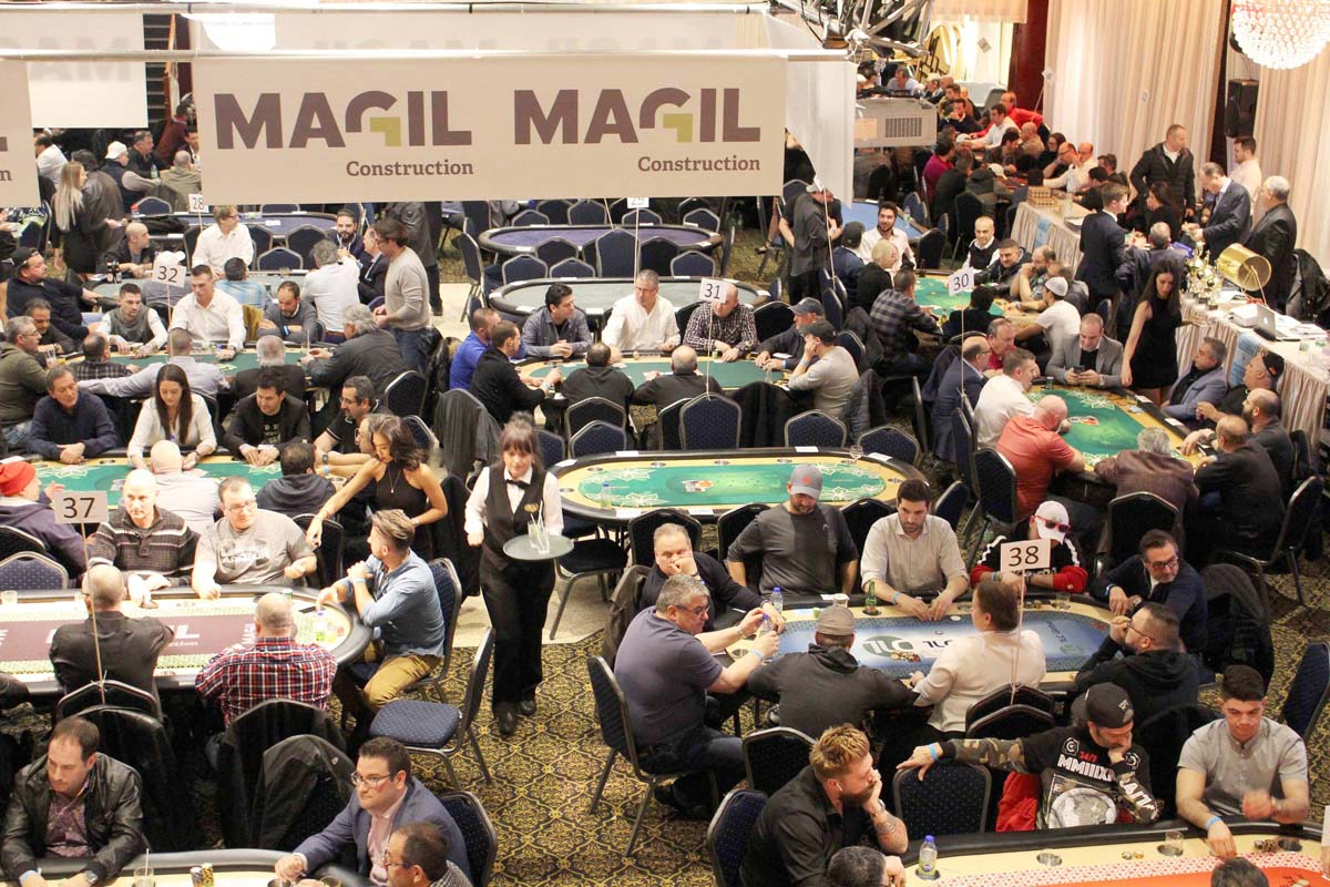 Annual TEXAS HOLD'EM Poker Tournament 2019