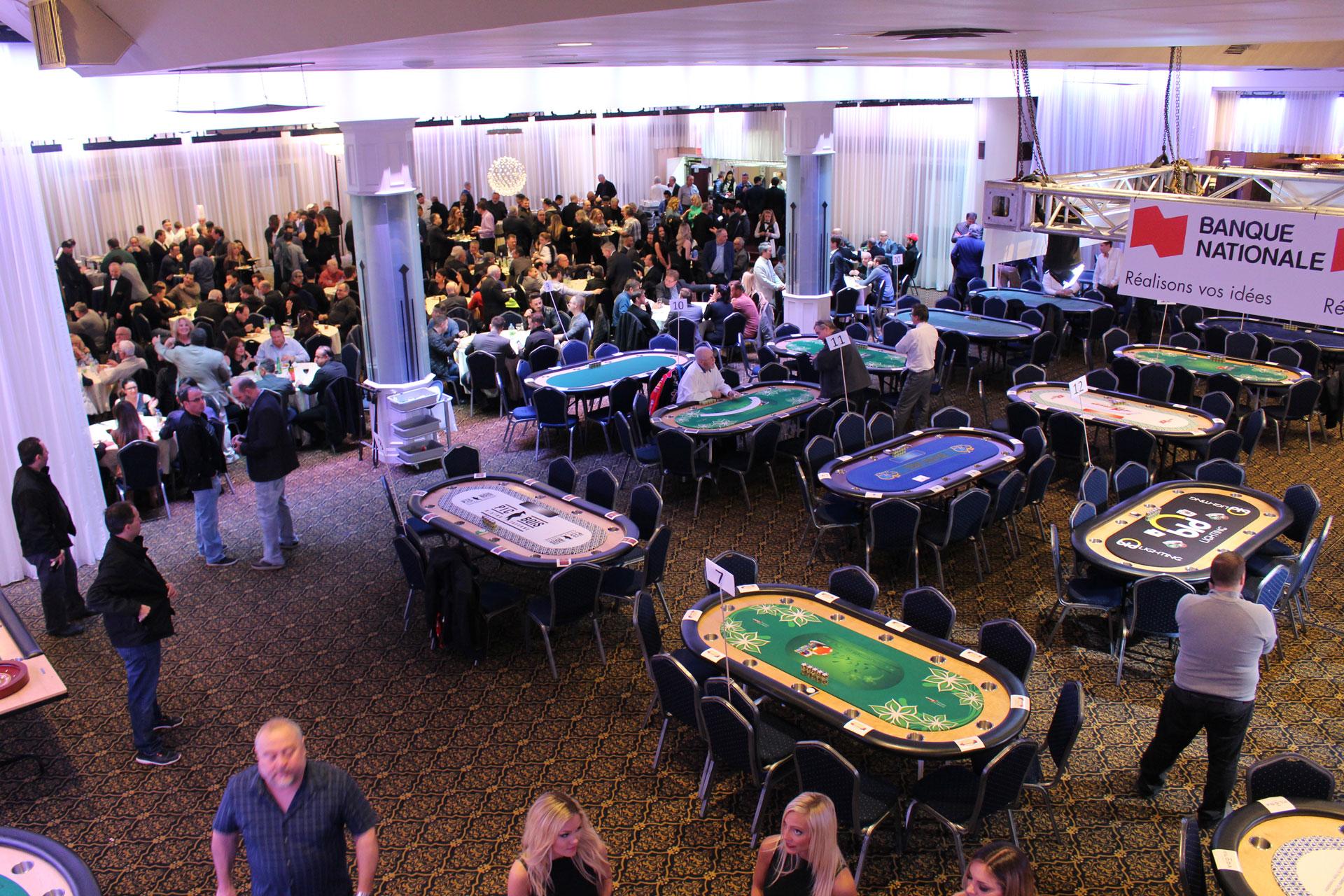 Tournoi de poker TEXAS HOLD'EM annuel